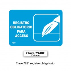 REGISTRO OBLIGATORIO